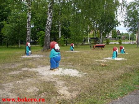 """Гномы - детская площадка стадиона """"Подолье"""""""
