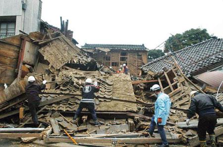 Землетрясение в Японии может унести жизни до 323 тыс человек