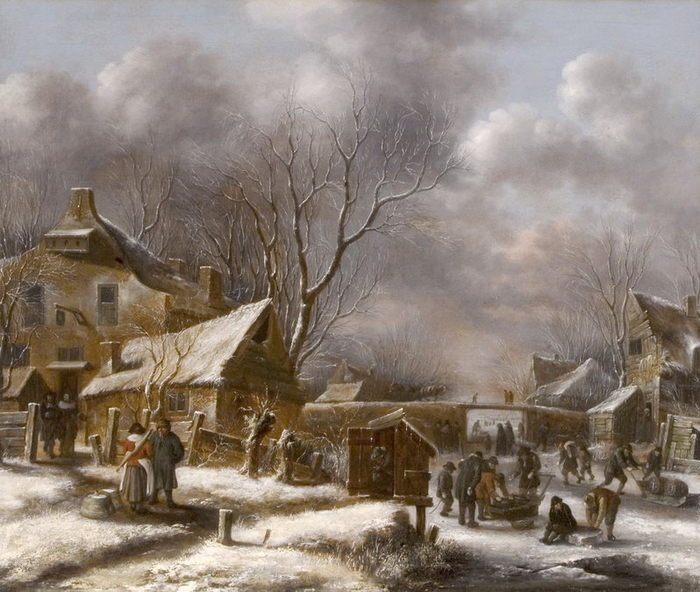 голландская живопись: