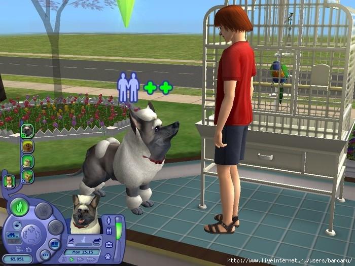 Sims домашние питомцы