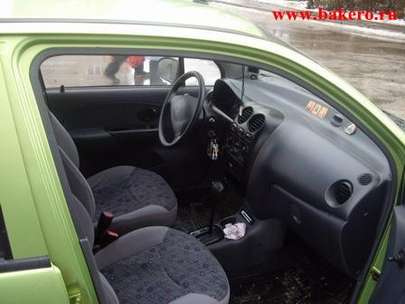 Daewoo Matiz: передние сиденья