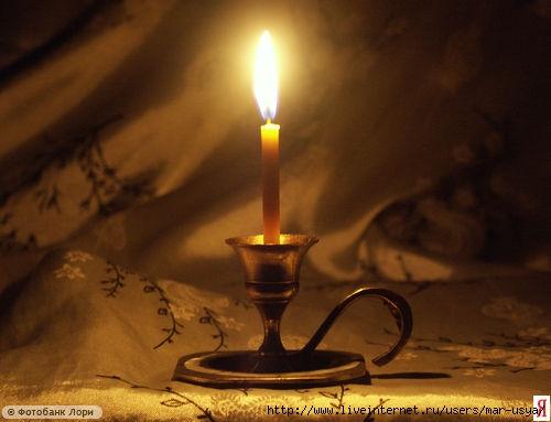 Рождественское гадание на воске (свечах)