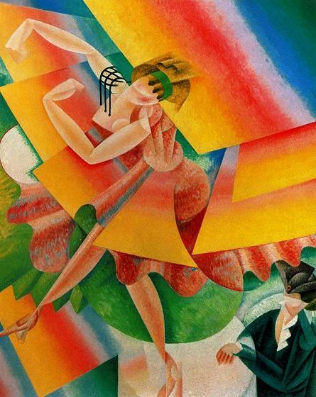Танцовщица 1915. Дж. Северини