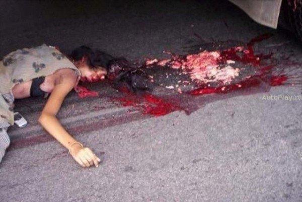 Фото автомобильных аварий и дорожных происшествий (71 фото).