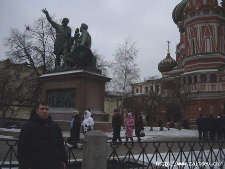 Дмитрий Зайцев: Памятник Минину и Пожарскому