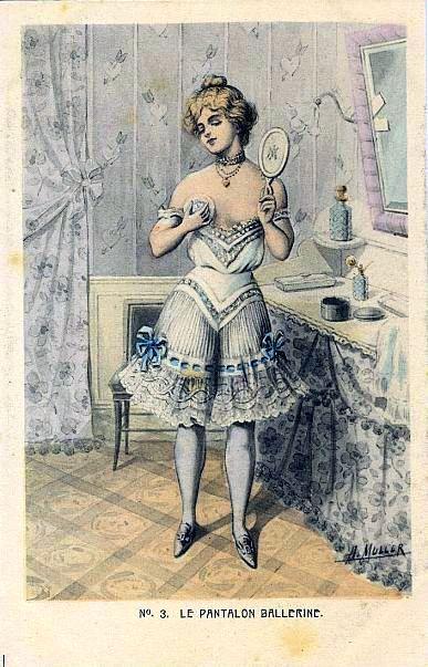 Панталоны эротичные винтаж фото 494-68