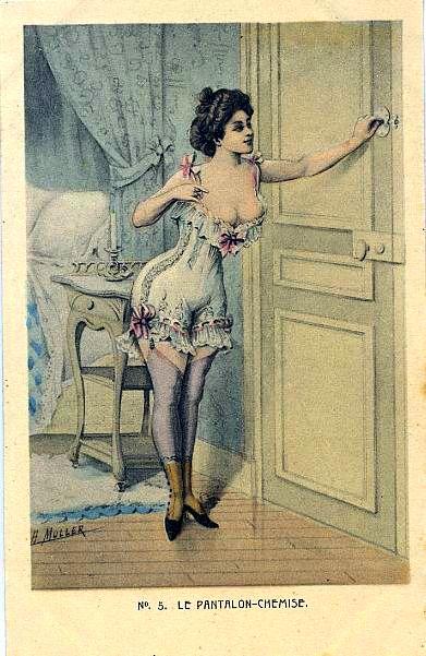 Панталоны эротичные винтаж фото 494-41