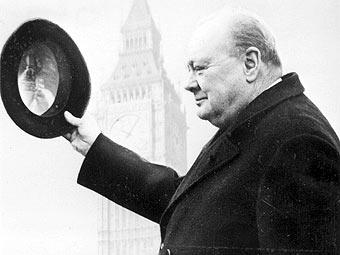 Уинстон Черчилль (с сайта ket.org)
