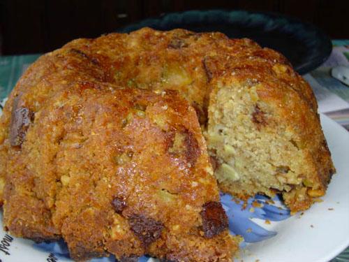 Кекс с яблоками рецепт пошагово в духовке в силиконовой форме