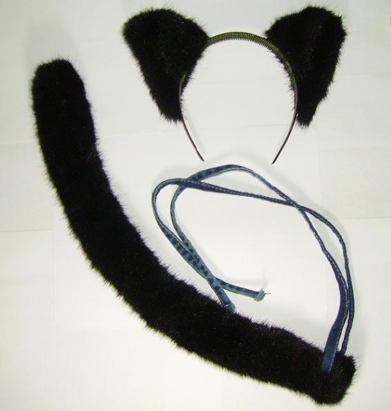 Как сделать кошачий хвостик