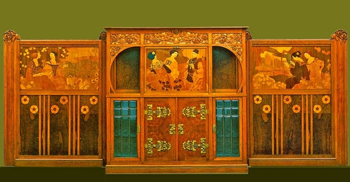 Art nouveau meubles barcelona art nouveau - Meuble art nouveau ...
