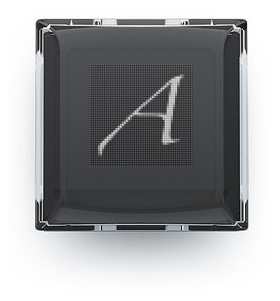 Клавиша-экран клавиатуры «Оптимус». Изображение взято с сайта Артемия Лебедева.