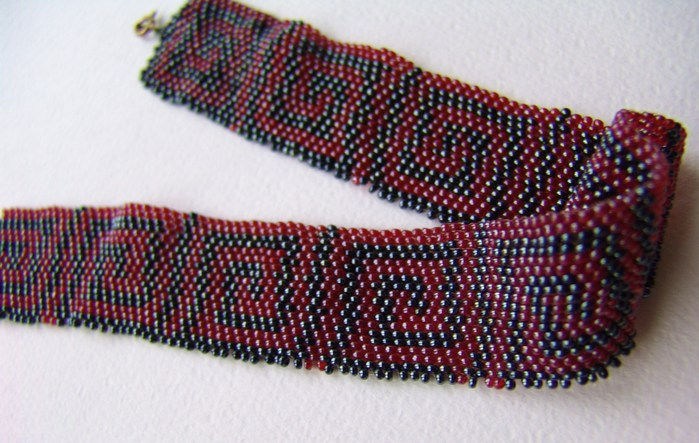Ошейник / Beaded necklace