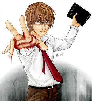 ][ღ][ صــــــــــــور Death Note ......مهداة الـــى الجمــيـــــع........][ღ][ 19733345_11386207_16594019_Yagami_Raito_by_Hani7