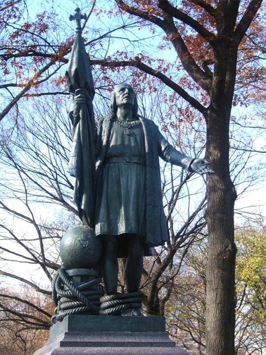 Статуя Христофора Колумба, Нью Йорк, Централ парк