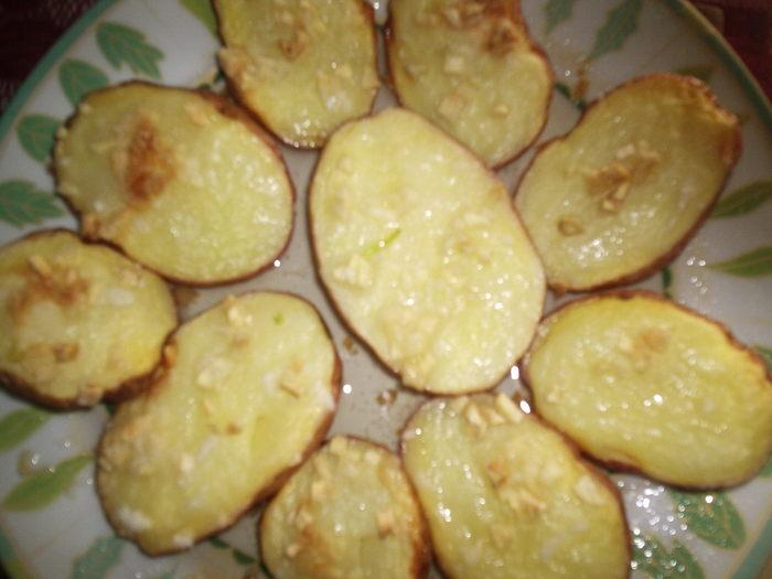 Рецепт картошки с сыром в микроволновке