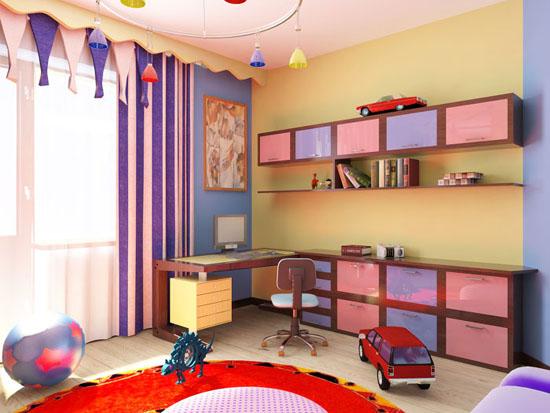 Цветы в детскую комнату для мальчика