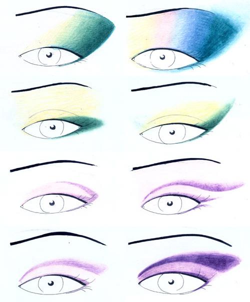 Техника макияжа и варианты
