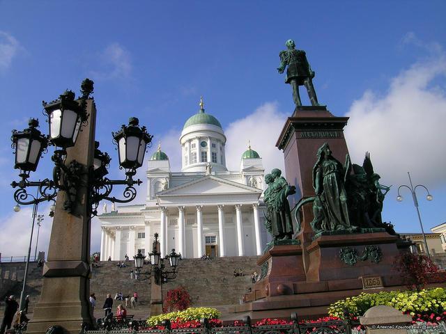 Александрийская площадь в Хельсинки