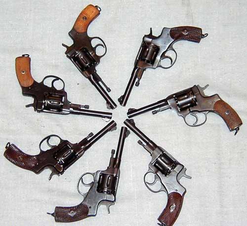 Характеристики револьвера Нагана образца 1895 года Калибр: 7,62 мм Длина...