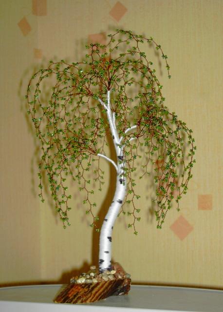 Записи с меткой деревья из бисера