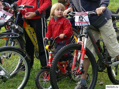 велозаезд с подрастающими чемпионами