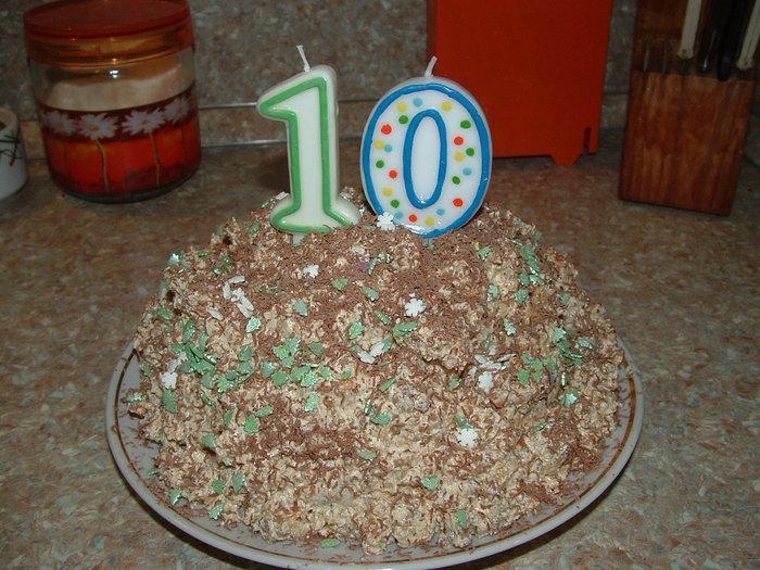 Вкусный домашний торт Муравейник, рецепт с фото. дробленные грецкие Этот...