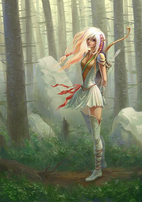 sacred_elf (489x698, 134Kb)