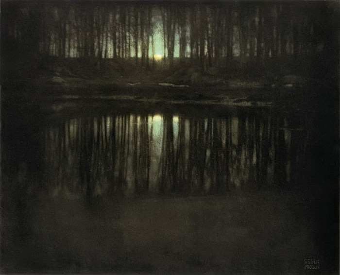 «Пруд в лунном свете» Эдварда Штайхена (Edward Steichen)