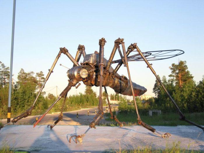 комар из лома