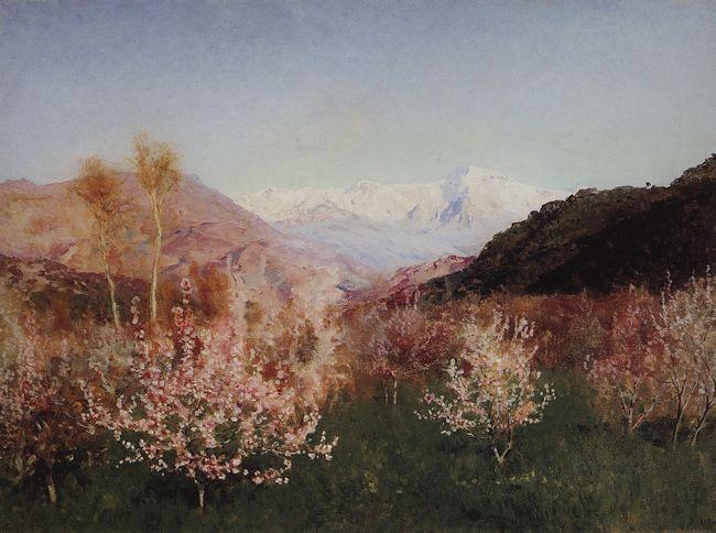 Левитан и весна в италии