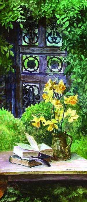 Лесохина любовь в весеннем саду