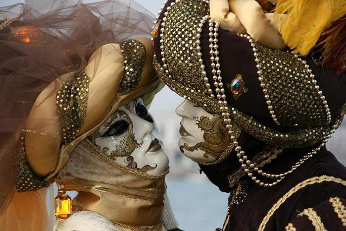 Венецианские маски.  Lungmaa.