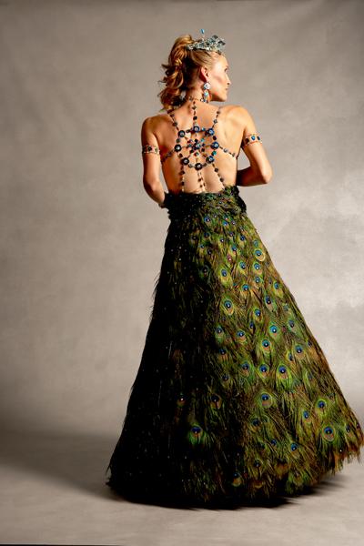 Платья из бисера своими руками