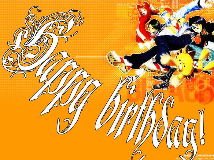 Аниме открытка с днем рождения мужчине 56
