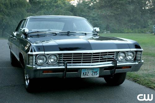 Chevrolet Impala 1967 Supernatural. должна быть Импала 1967,