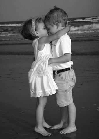 Поцелуй при встрече