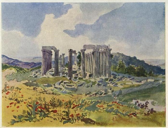 Храм Аполлона в Фигалии. 1835