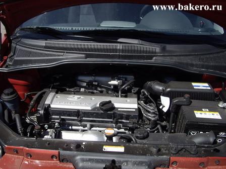 Hyundai Getz Хендай Гетц Двигатель