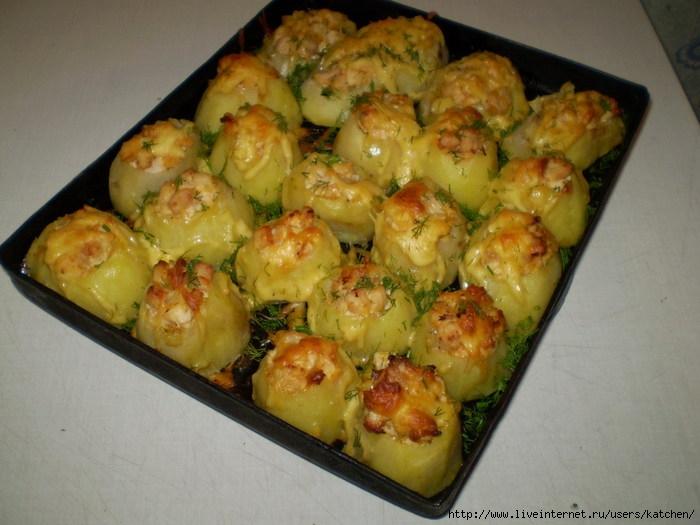 Картопля запечена в духовці рецепти з фото