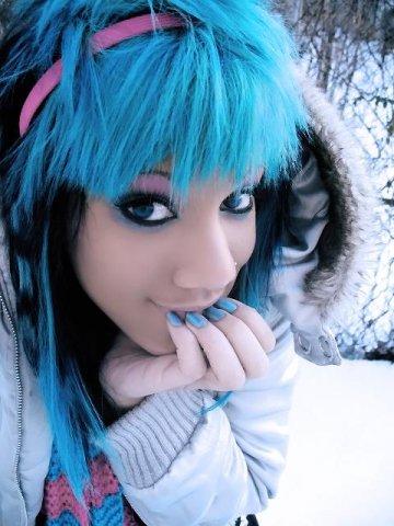 Синие волосы обсуждение на liveinternet