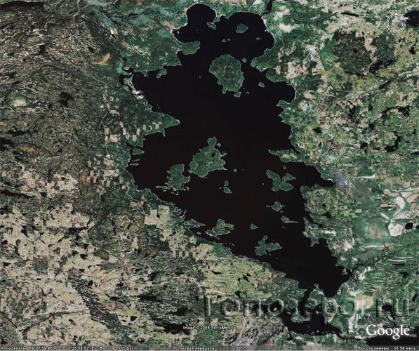 Карты Карелии Пяозеро