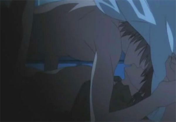 А в аниме все вот так темно и прикрыто