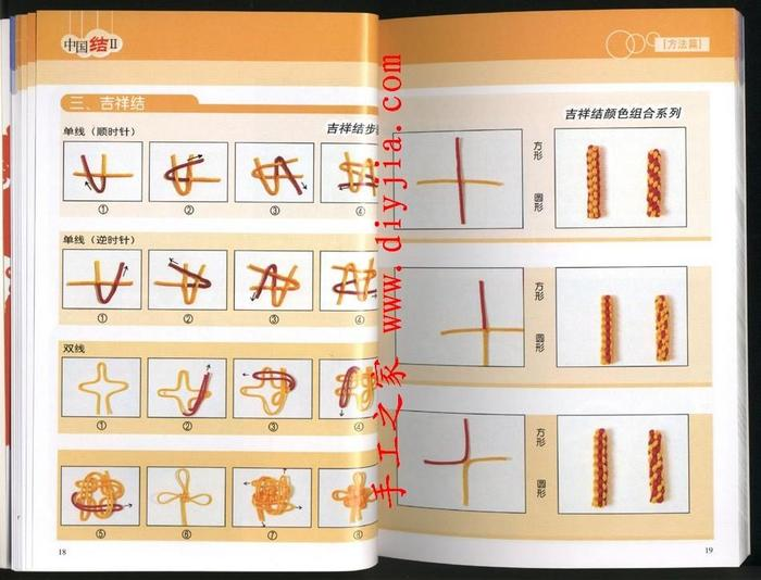 Схема плетения жгута -основы