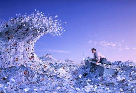 бюрократическое цунами захлестнуло офисный планктон