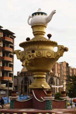 памятник самовару в турции