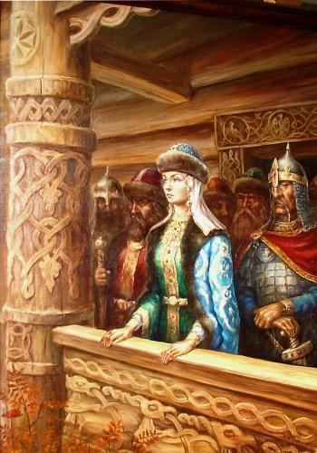 Княгиня, правила Киевской Русью после гибели мужа, князя Игоря Рюриковича, как регент с 945 примерно до 960 года.