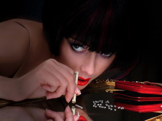Секс и кокаин у девушек