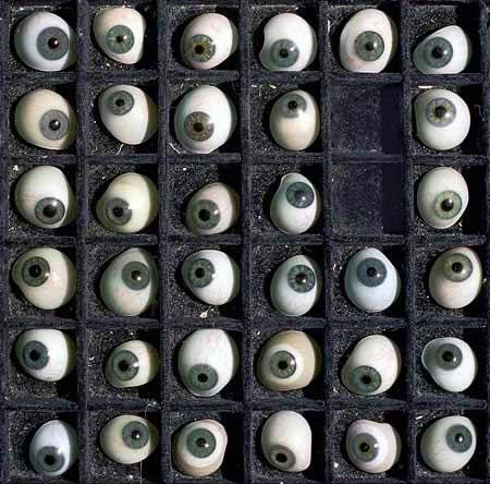 кучка глазьев