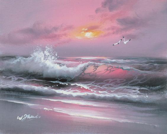 Винноцветное море порока под небом лазурным.